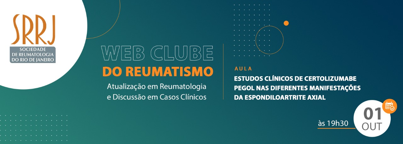 Web Clube do Reumatismo – Atualização em Reumatologia e Discussão em Casos Clínicos.