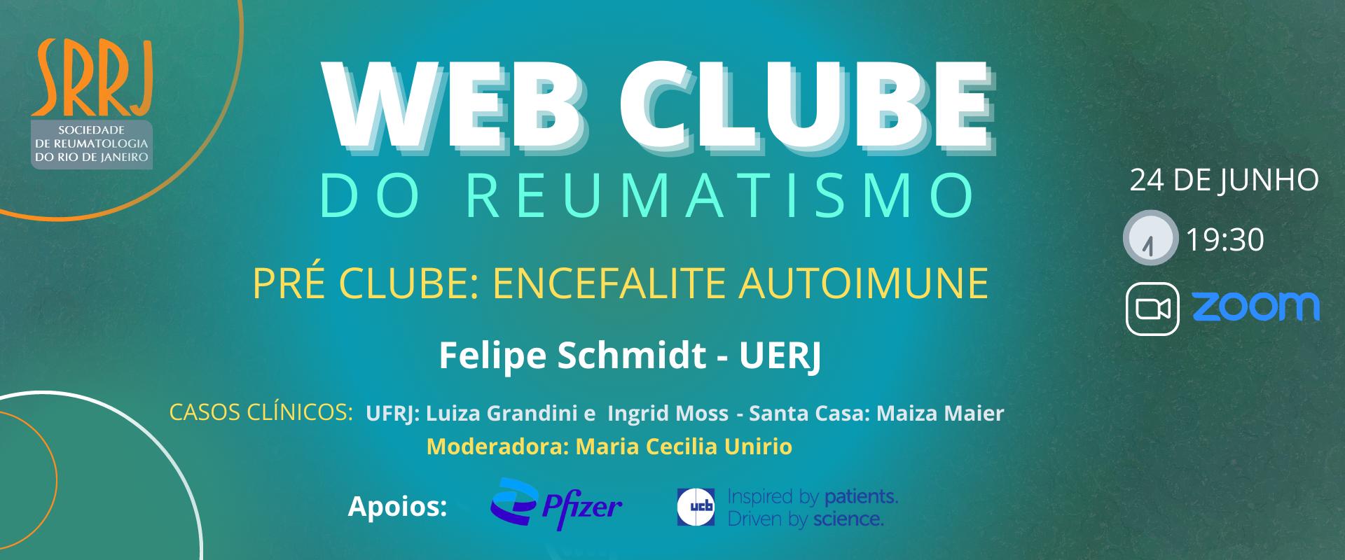 WEB CLUBE DO REUMATISMO – Manifestações Neurológicas na doença autoimune