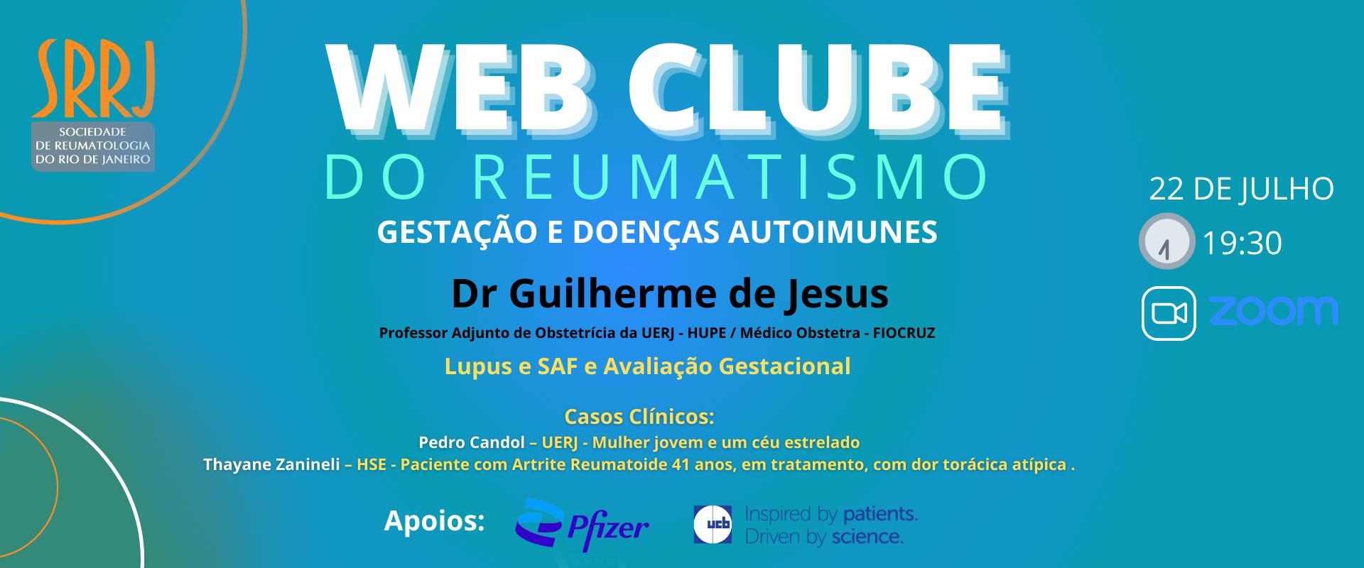 WEB CLUBE DO REUMATISMO – GESTAÇÃO E DOENÇAS AUTOIMUNES