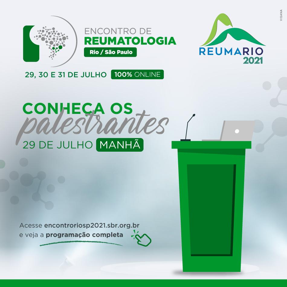 Encontro de Reumatologia Rio/São Paulo